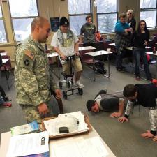 Post secondary - Military presentation